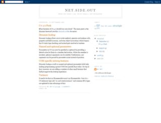 netsideout.blogspot.co.uk screenshot