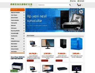 netsiparis.com screenshot