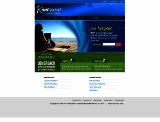 netspeed.com.au screenshot