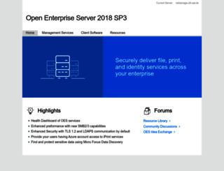netstorage.oth-aw.de screenshot