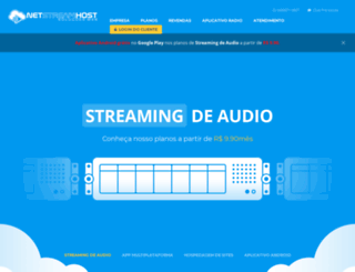 netstreamhost.com screenshot