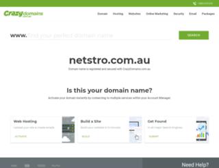 netstro.com.au screenshot