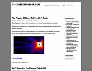 netstumbler.com screenshot