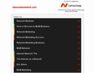 netsuccessnetwork.com screenshot