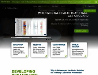 netsweeper.com screenshot