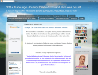 nettistestlounge.blogspot.de screenshot