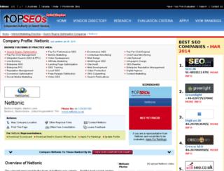 nettonic.topseos.co.uk screenshot