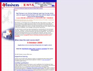 nettrainers.org screenshot