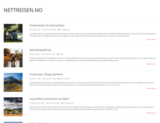 nettreisen.no screenshot
