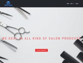 nettysalon.com screenshot