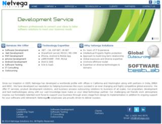 netvega.com screenshot
