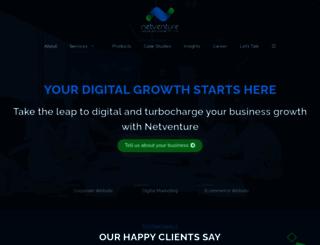netventure.in screenshot