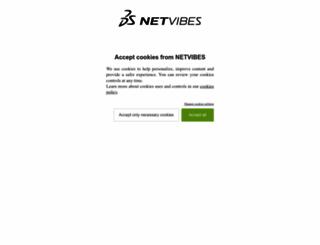 netvibes.com screenshot