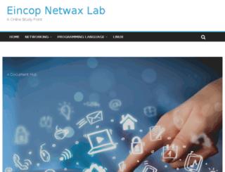 netwaxlab.com screenshot
