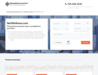 netwellness.com screenshot