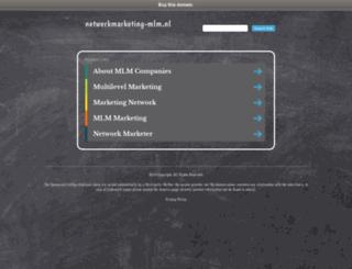 netwerkmarketing-mlm.nl screenshot