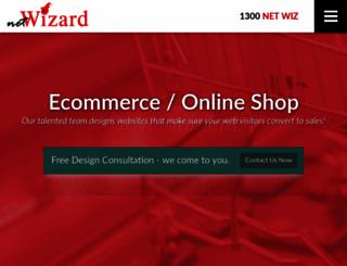 netwizarddesign.net.au screenshot