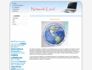 network-land.awardspace.com screenshot
