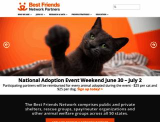 network.bestfriends.org screenshot