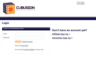 network.cubusion.com screenshot