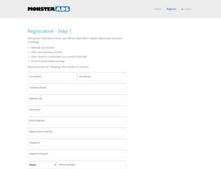 network.monsterads.com screenshot