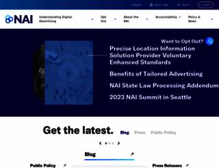 networkadvertising.org screenshot
