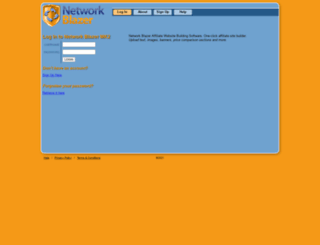 networkblazer.com screenshot