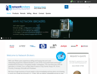 networkbrokers.com.au screenshot