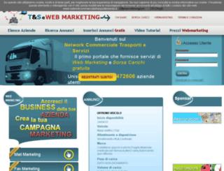 networkcommercialetrasportieservizi.it screenshot