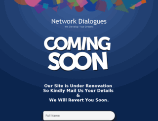 networkdialogues.com screenshot