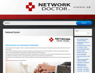 networkdoctor.com.au screenshot