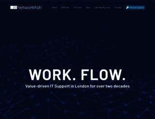 networkfish.co.uk screenshot