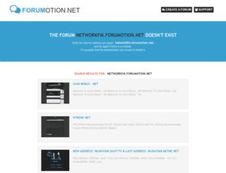 networkfm.forumotion.net screenshot