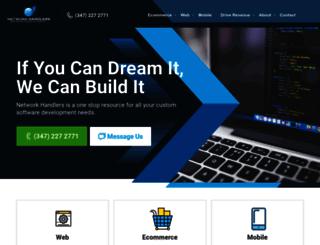 networkhandlers.com screenshot