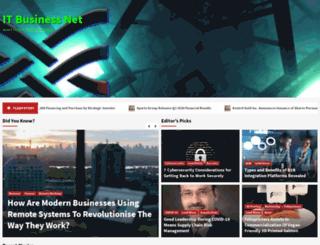 networking.itbusinessnet.com screenshot