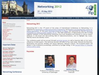 networking2012.cvut.cz screenshot