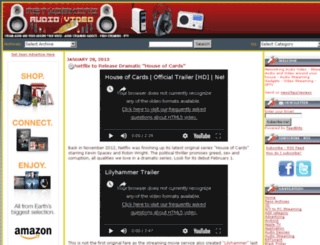 networkingaudiovideo.com screenshot
