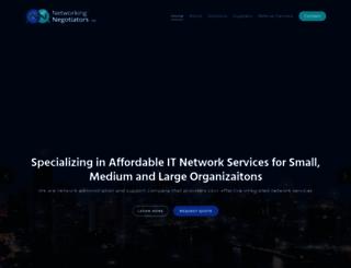 networkingnegotiators.com screenshot