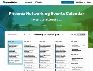 networkingphoenix.com screenshot