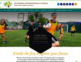 networkinternationalschool.com screenshot