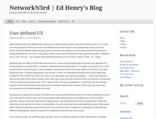 networkn3rd.wordpress.com screenshot