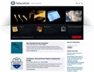 networknet.nl screenshot