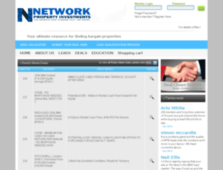 networkpropertyinvestments.co.uk screenshot