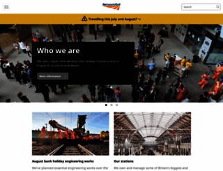 networkrail.co.uk screenshot