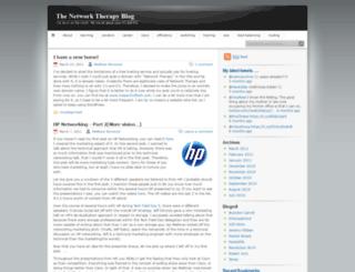 networktherapy.wordpress.com screenshot
