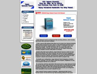 networktunnel.net screenshot