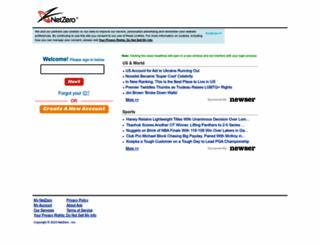 netzero.synacor.com screenshot
