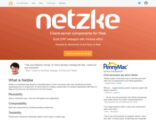 netzke.org screenshot