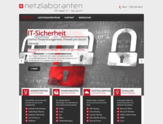 netzlaboranten.de screenshot