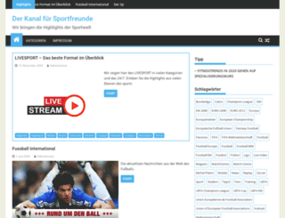 netzsport.at screenshot